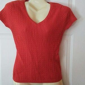 Knit top by Jeanne Pierre